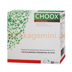 SEQUOIA Choox, 30 saszetek