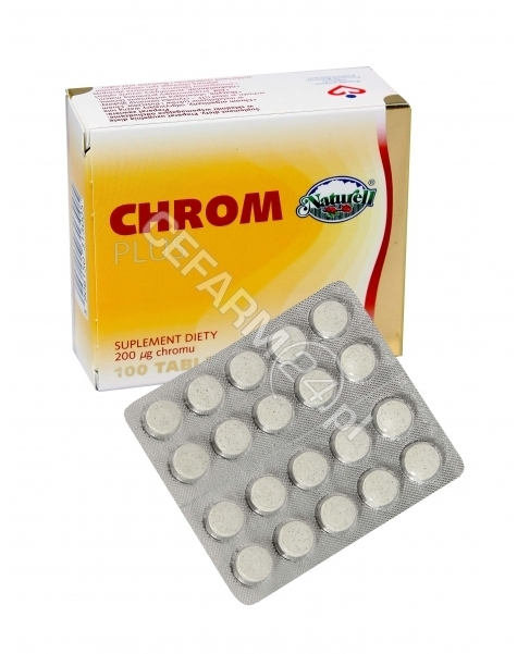 NATURELL Chrom plus naturell 200 mcg x 100 tabl
