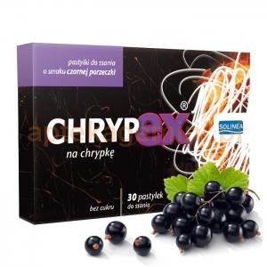 Solinea Chrypex o smaku czarnej porzeczki, 30 pastylek