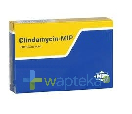 MIP PHARMA POLSKA SP. Z O.O. Clindamycin MIP 600 tabletki powlekane 600mg 16 sztuk