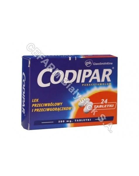 GLAXOSMITHKL Codipar 500 mg x 24 tabl