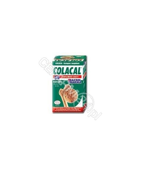 GORVITA Colacal kolagen z wapniem x 60 kaps