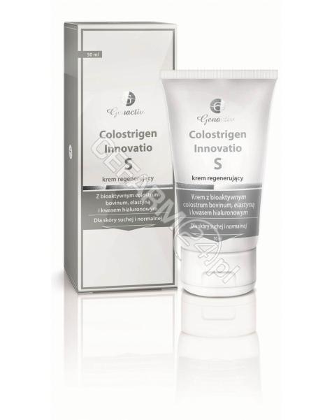 GENACTIV Colostrigen innovatio S krem regenerujący dla skóry suchej i normalnej 50 ml + Colosregen Trichobloker 10 ml GRATIS !!! (data ważności <span class=