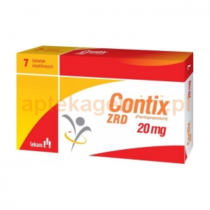 LEK-AM Contix ZRD 20 mg, 7 tabletek
