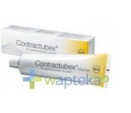 MERZ PHARMACEUTICALS GMBH Contractubex żel 20 g