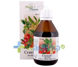 PHYTOPHARM KLĘKA S.A. Cravisol płyn doustny 100 ml