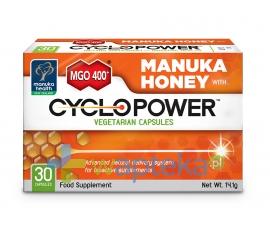 Manuka Cyclopower kapsułki z Miodem Manuka MGO 400+ 30 sztuk