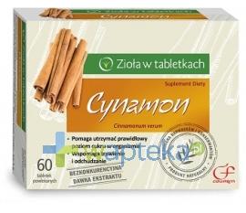 ZAKŁADY FARM. COLFARM CYNAMON 60 tabletek