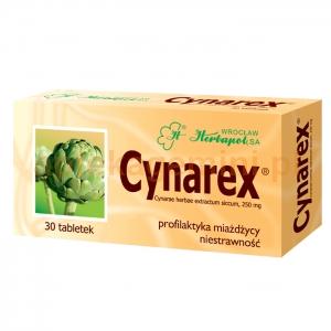 HERBAPOL WROCŁAW Cynarex 250mg, 30 tabletek