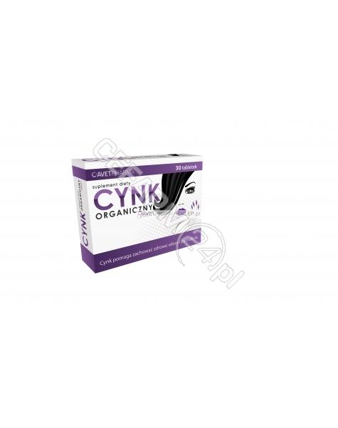 AVET Cynk organiczny x 30 tabl powlekanych (Avet)