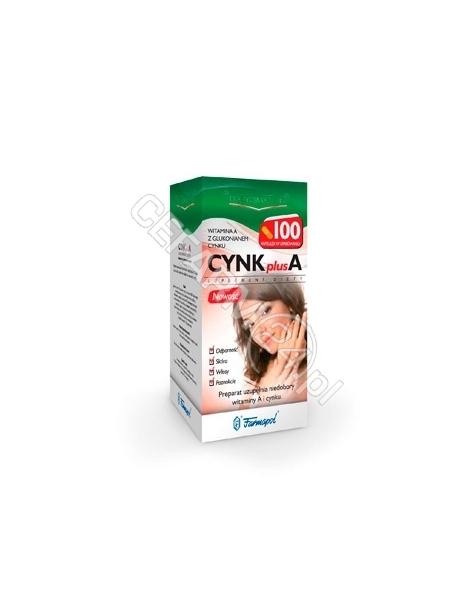 FARMAPOL Cynk plus a x 100 kaps