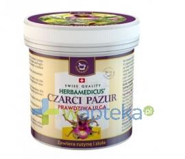 HERBAMEDICUS SP. Z O.O. CZARCI PAZUR z rutyną i ziołami Balsam ziołowy 250 ml