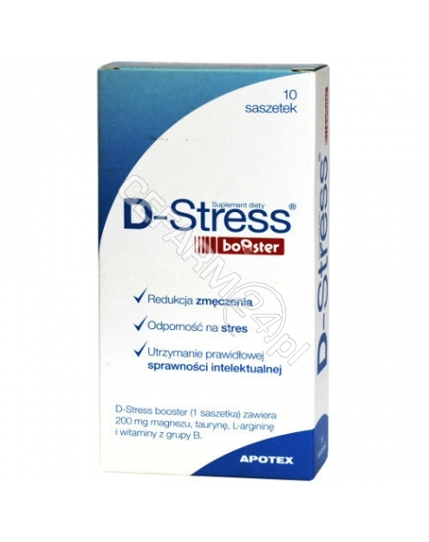 APOTEX NEDERLAND BV D-stress booster x 10 sasz