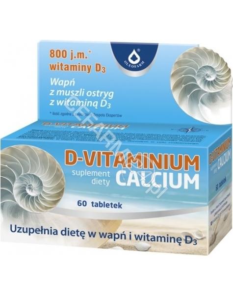 OLEOFARM D-vitaminium calcium x 60 tabl