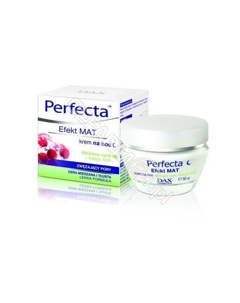 DAX COSMETICS Dax cosmetics perfecta efekt mat zwężający pory krem na noc 50 ml