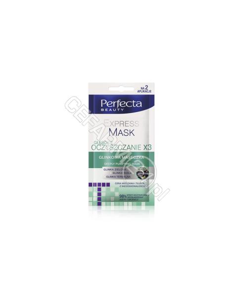 DAX COSMETICS Dax cosmetics perfecta Głębokie oczyszczanie - glinkowa maseczka 10 ml
