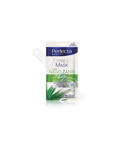 DAX COSMETICS Dax Cosmetics perfecta Mezo nawilżanie maseczka - ampułka hialuronowa 10 ml