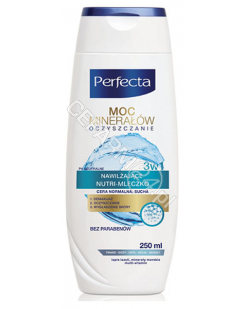 DAX COSMETICS Dax Cosmetics Perfecta Oczyszczanie mineralne mleczko do demakijażu - cera normalna 200 ml