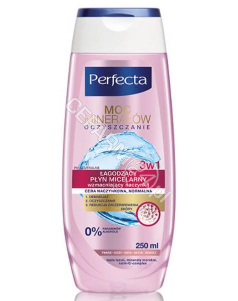 DAX COSMETICS Dax Cosmetics Perfecta Oczyszczanie mineralny płyn micelarny - cera naczynkowa 200 ml