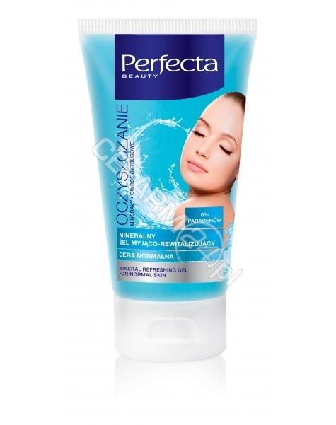 DAX COSMETICS Dax Cosmetics Perfecta Oczyszczanie mineralny żel myjąco - rewitalizujący - cera normalna 150 ml