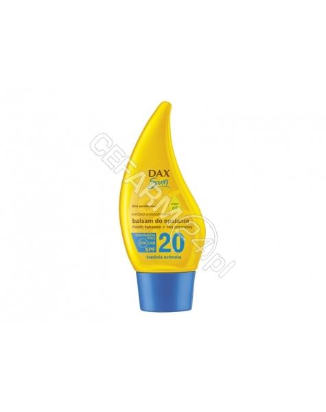 DAX COSMETICS Dax cosmetics sun balsam z masłem kakaowym i olejem arganowym spf 20 150 ml