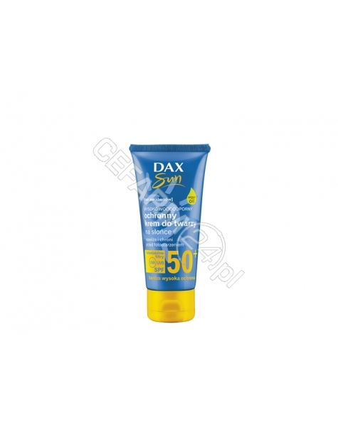 DAX COSMETICS Dax cosmetics sun ochronny krem do twarzy na słońce spf 50+ 50ml