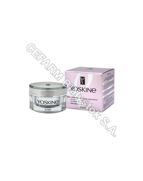 DAX COSMETICS Dax cosmetics yoskine 30+ krem - reduktor zmarszczek mimicznych na dzień spf 10, cera sucha 50 ml - dostępne ostatnie sztuki