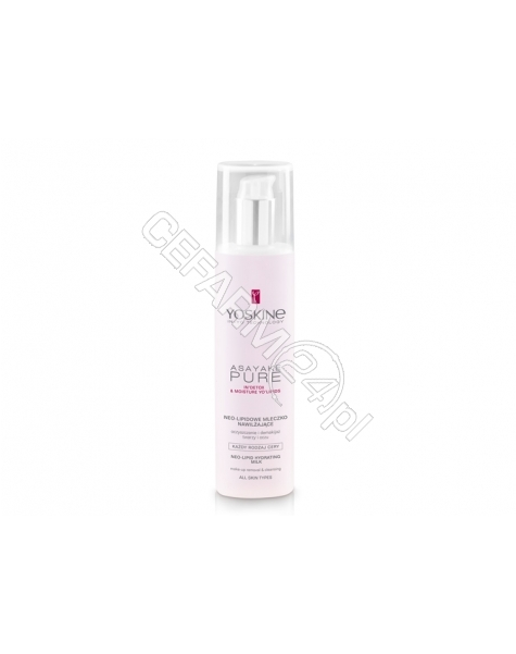 DAX COSMETICS Dax cosmetics yoskine Asayake Pure mleczko oczyszczające do demakijażu twarzy i oczu 200 ml