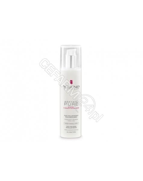 DAX COSMETICS Dax cosmetics yoskine Asayake Pure płyn micelarny do demakijażu twarzy i oczu 200 ml