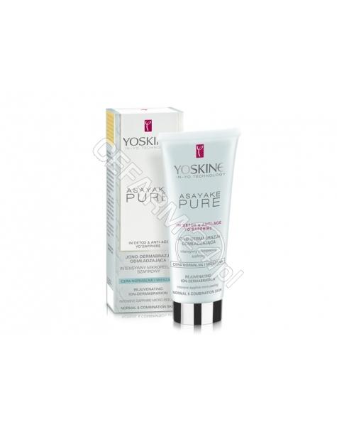 DAX COSMETICS Dax cosmetics yoskine Asayake Pure szafirowy peeling do cery normalnej i mieszanej 75 ml