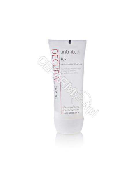 BIOVENA PHAR Decubal anti-itch gel nawilżający iłagodzący żel okojącym działaniu napodrażnioną skórę 100 ml
