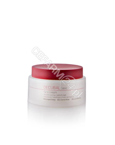 BIOVENA PHAR Decubal face cream odżywczy i intensywnie nawilżający krem do twarzy 75 ml