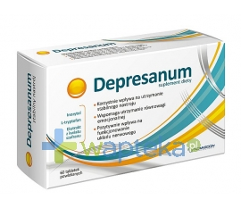 NOVASCON PHARMACEUTICALS SP. Z O.O. Depresanum 60 tabletek