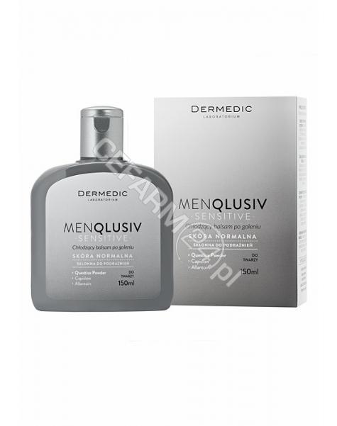 BIOGENED Dermedic Menqlusiv Sensitive chłodzący balsam po goleniu 150 ml