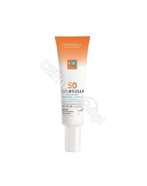 BIOGENED Dermedic Sunbrella krem ochronny spf 50 skóra nadreaktywna i nadwrażliwa 40g