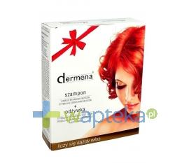 PHARMENA DERMENA Szampon przeciw wypadaniu włosów 200 ml + DERMENA LASH Odżywka do rzęs 10 ml