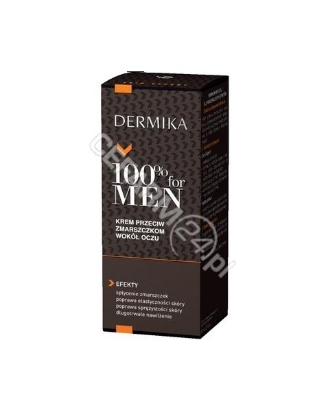 CEDERROTH Dermika 100% for men krem przeciw zmarszczkom wokół oczu 15 ml