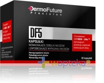 TENEX SP. Z O.O. DERMO FUTURE DF5 Kapsułki zapobiegające wypadaniu włosów 30 sztuk