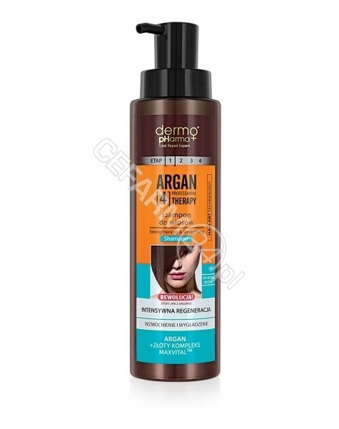 ESTETICA Dermo Pharma Argan Therapy szampon do włosów 400 ml