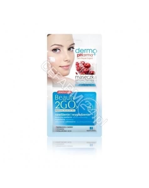 ESTETICA Dermo Pharma Beauty 2Go maseczka samowchłaniająca nawilżenie i wygładzenie