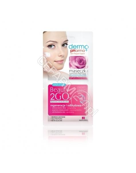 ESTETICA Dermo Pharma Beauty 2Go maseczka samowchłaniająca regeneracja i odbudowa