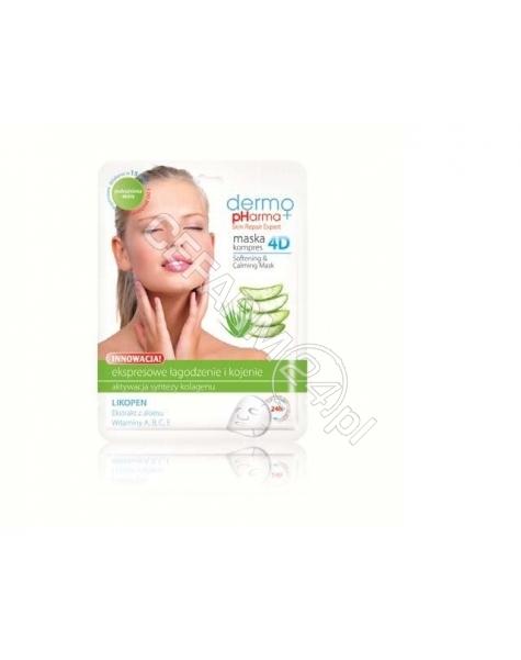 ESTETICA Dermo Pharma maska kompres 4D ekspresowe kojenie i łagodzenie