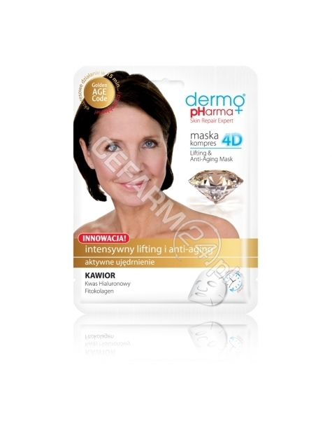 ESTETICA Dermo Pharma maska kompres 4D intensywny lifting i anti-aging