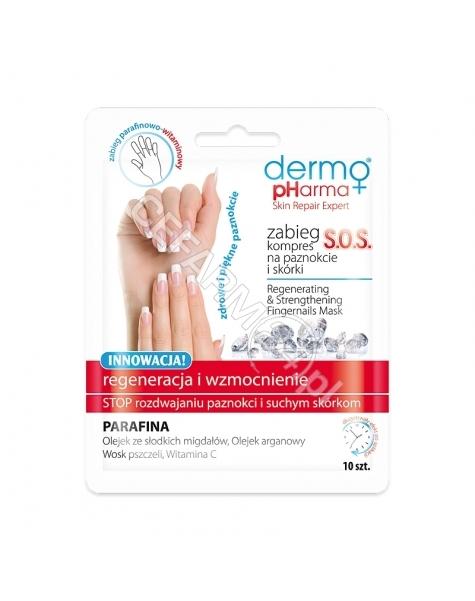 ESTETICA Dermo Pharma zabieg kompres na paznokcie i skórki S.O.S x 10 szt