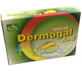 SPEC.PRZED.ROL.-PROD. GAL S.C. Dermogal A+E twist off 48 kapsułek