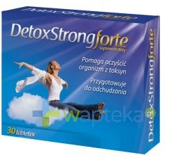 STARPHARMA SP.Z O.O. Detoxstrong Forte 30 tabletek