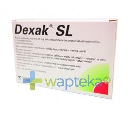 BERLIN CHEMIE AG Dexak SL 0,025g 10 saszetek