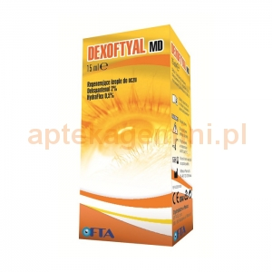 VERCO Dexoftyal MD, krople do oczu, 15ml