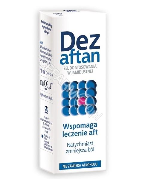AFLOFARM Dezaftan żel 10 ml