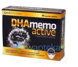 AVET PHARMA S.K.A DHA Memo Active 30 kaspułek